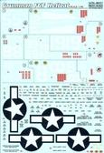 Декаль для самолета F6F Hellcat