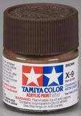 Акриловая краска 10мл Mini X-9 коричневый (глянцевая)