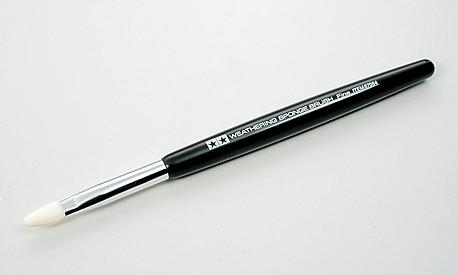 Кисточка для имитации погодных эффектов тонкая Tamiya 87084