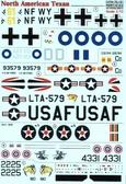 Декаль для самолета North American T-6 Texan