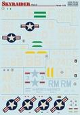 Декаль для самолета A-1 Skyraider, часть 2