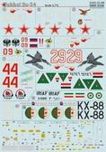 Декаль для самолета Сухой Су-24 от Print Scale