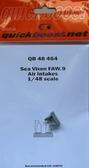 Воздухозаборники для Sea Vixen FAW.9 (смола)