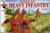 Korean heavy infantry, XVI-XVII century A.D.