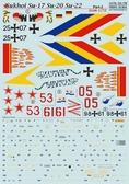 Декаль для самолета Сухой Су-17, часть 2