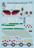 Декаль для истребителя F-4 Phantom II in Viet Nam war, Part 2 от Print Scale