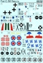Декаль для самолета Fiat G.50 Freccia Print Scale 72144 основная фотография