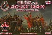 Народное ополчение и войска лоялистов 1745 года. Восстание якобитов