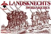 Ландскнехты (Мечи с аркебузами), 16 век