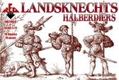 Ландскнехты (алебардщики), 16 век