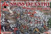 Швейцарская пехота (мечи с аркебузами), 16 век