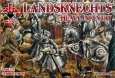 Ландскнехты (тяжелая пехота), 16-й век