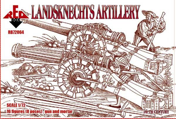 Ландскнехты (артиллерия), 16 век Red Box 72064