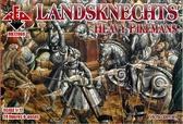 Ландскнехты (тяжелые копейщики), 16 век