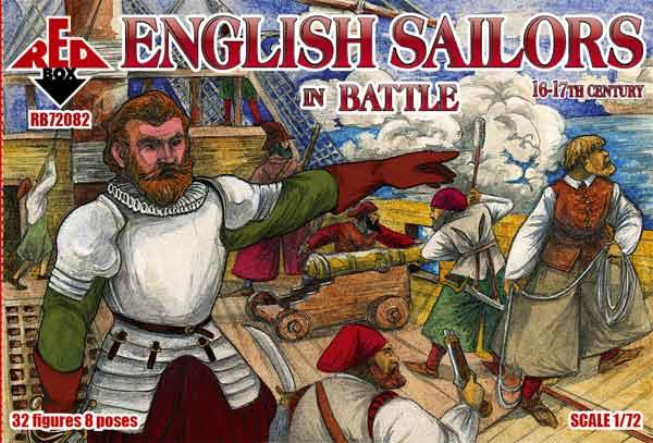 Английские моряки в бою, 16-17 века Red Box 72082