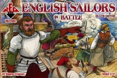 Английские моряки в бою, 16-17 века