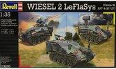 Комплекс ПВО на базе Wiesel 2 LeFlaSys с 3-x машин (Ozelot, AFF, BF/UF)