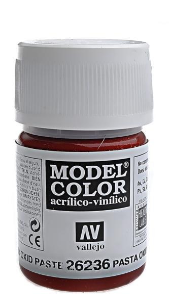 Имитация рельефа, красный оксид - 35 мл Vallejo 26236