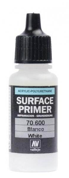 Акрил-полиуретановая грунтовка: White Primer 17 мл Vallejo 70600