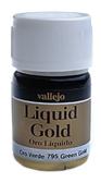 Краска металлик лаковая Model Color 216 зеленое золото (спиртовая основа)