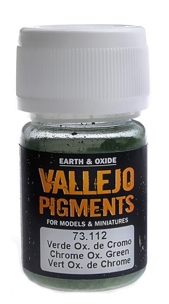 Пигмент художественный (окись хрома зеленая) Vallejo 73112