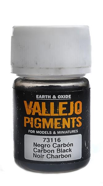 Пигмент художественный (дымчатый черный) Vallejo 73116