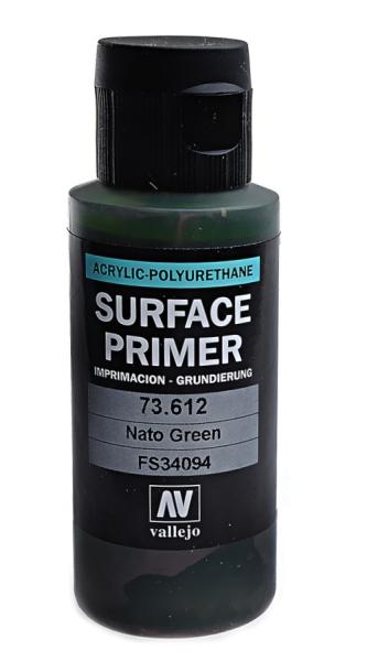 Акрил-полиуретановая грунтовка: Nato green 60 мл Vallejo 73612