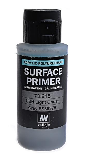 Акрил-полиуретановая грунтовка: USN Light Ghost Grey (FS36375) 60 мл Vallejo 73615