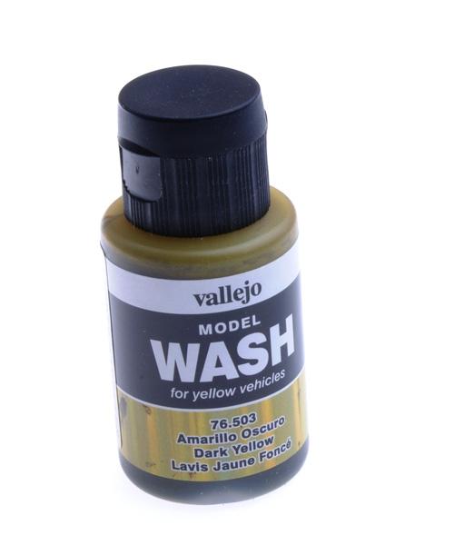 Смывка Model Wash, темно-желтая - 35 мл Vallejo 76503