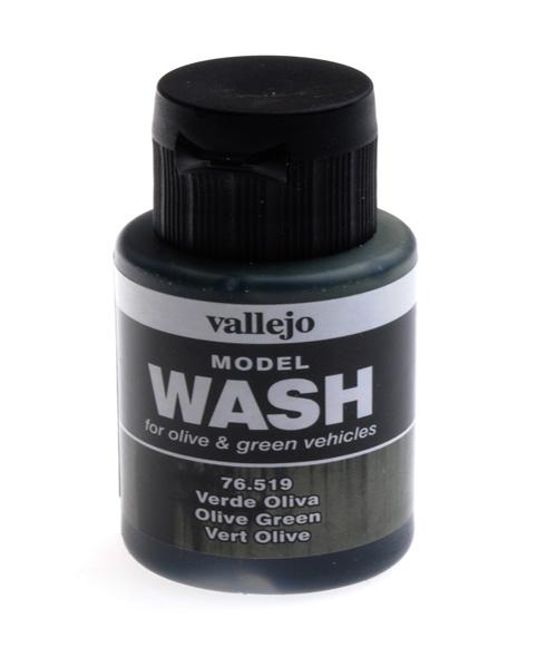 Смывка Model Wash, оливково-зеленая - 35 мл Vallejo 76519