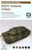 Набор красок Цветовая модуляция бронетехники НАТО