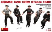 Немецкий танковый экипаж, Франция 1940