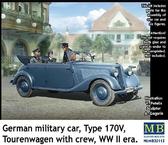 Немецкий военный автомобиль, Тип 170V Tourenwagen с экипажем, 2МВ