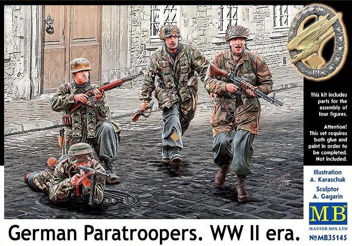 Немецкие парашютисты, Вторая мировая война Master Box 35145