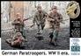 Немецкие парашютисты, Вторая мировая война Master Box 35145 основная фотография