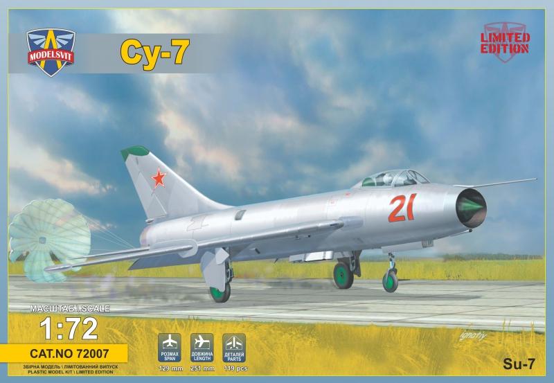 Истребитель-бомбардировщик Су-7 ModelSvit 72007