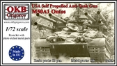 Американская легкая многоствольная противотанковая САУ M50A1 Ontos