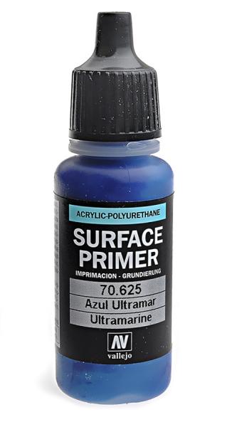Акрил-полиуретановая грунтовка: Ультрамарин, 17 мл Vallejo 70625