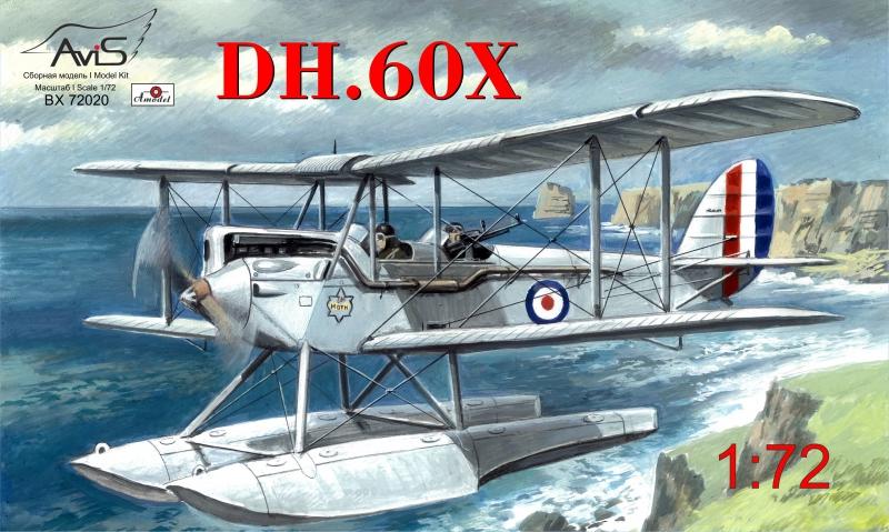 Гидросамолет DH-60X Avis 72020
