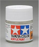 Акриловая краска 10мл Mini XF-2 матовый белый Tamiya 81702