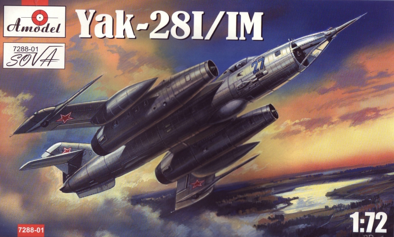 Бомбардировщик Яковлев Як-28 И/ИМ Amodel 728801