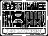 Фототравление 1/48 P-38J Лайтнинг (рекомендовано для ACADEMY)