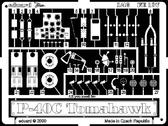 Фототравление 1/48 P-40C (рекомендовано для Academy, HobbyCraft)