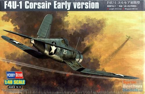 Истребитель F4U-1 Corsair, ранний Hobby Boss 80381