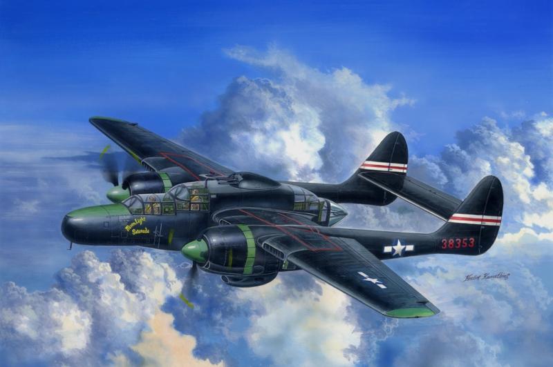 Истребитель P-61C