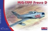 Истребитель МиГ-17 ПФ Fresco D от Parc Models