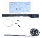 Металлические траки для Е-10 (собранные в ленту)
