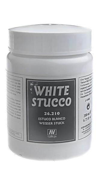 Имитация рельефа, белая штукатурка - 200 мл Vallejo 26210