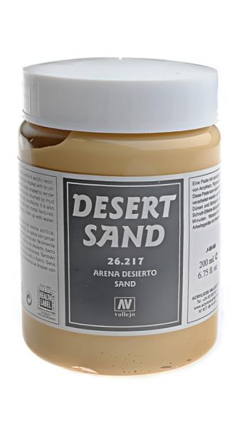Имитация рельефа, песок пустыни - 200 мл Vallejo 26217