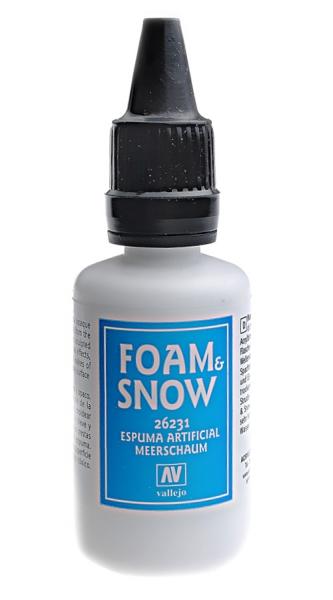 Имитация воды в диорамах, снег и пена - 32 мл Vallejo 26231